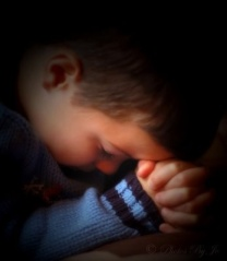 Blog little boy praying