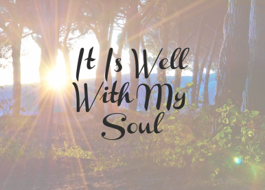 blog it is well with my soul
